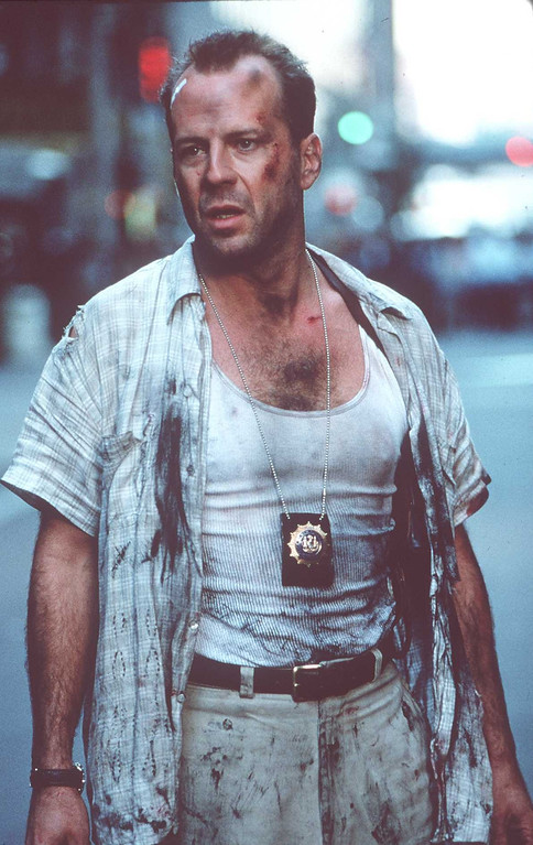 . March 1995.Bruce Willis Stars In The New Die Hardd Movie. (Photo By Getty Images)