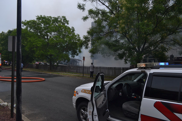 07/28/12 - Hasbrouck Heights, NJ - 3rd Alarm Structure/Vehicle Fire