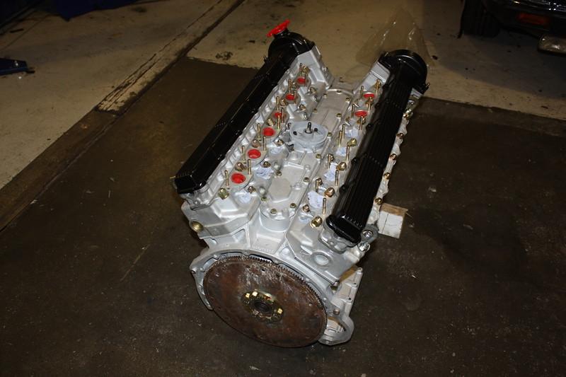 V12 engine fully internally rebuilt