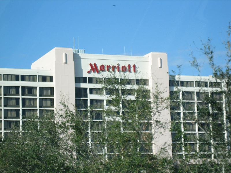 Our home away from home - oh how Marriott had missed me