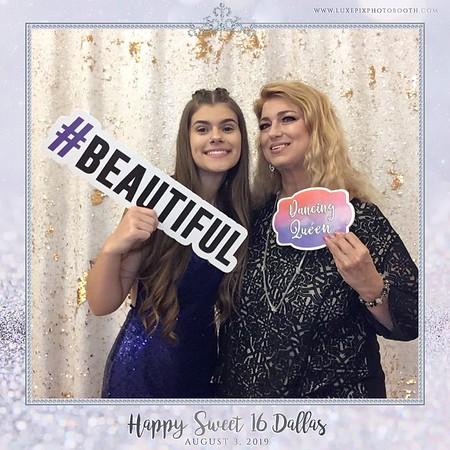 08.03.2019 Happy Sweet 16 Dallas!