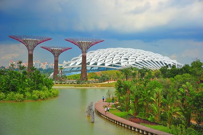 The Flower Dome, Gardens by the Bay, Singapore