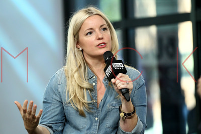 """NEW YORK, NY - OCTOBER 17:  Build presents Damaris Phillips discussing her cook book """"Southern Girl Meets Vegetarian Boy"""" at Build Studio."""
