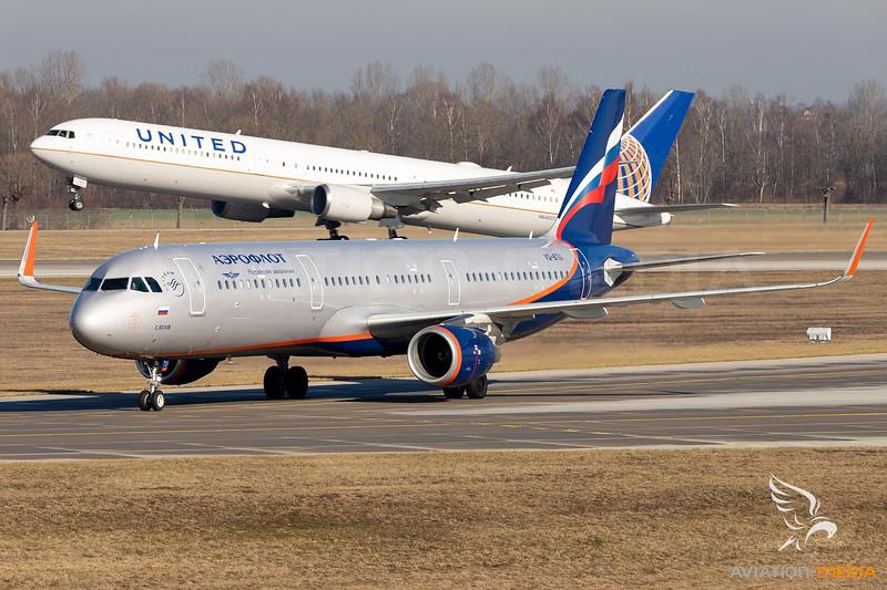 Aeroflot / Airbus A321 / VQ-BTU