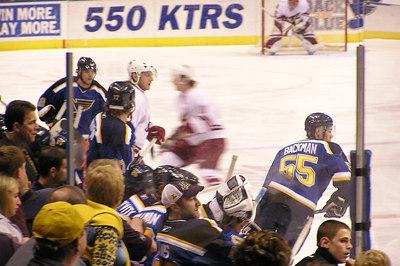 Phoenix Coyotes @ St Louis Blues Apr 16, 2006
