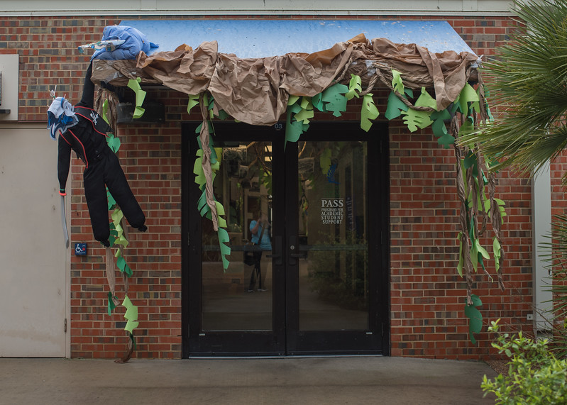 Project GRAD & SSS Programs Homecoming 2018 Decorations