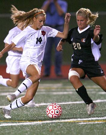 EPHS Varsity Girls Soccer vs Lakeville South (Sept 25, 2008)