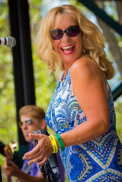 Dee Miller--Lowertown Blues Festival 2015-Mears Park-St. Paul MN
