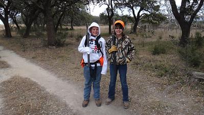 Aidan and Abby Quail Hunt 12-30-2012