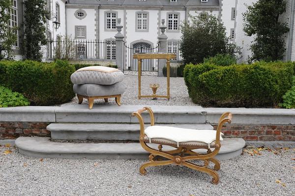 Furniture at Chateau Deulin