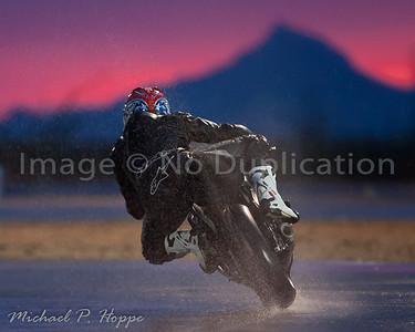 RAIN! P1 Track - bikes 7-23-11