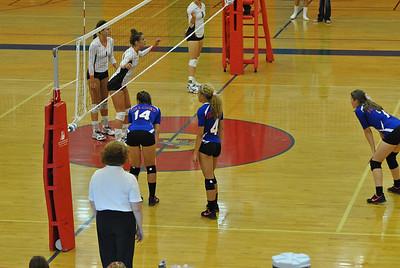 AHS Vball vs Osseo 9-4-2012