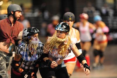 RollerCon 2009 Challenge - C*R*A*P Lifeguards vs. W*R*A*P Lumberjacks - Las Vegas Sports Center - 01 Aug 2009