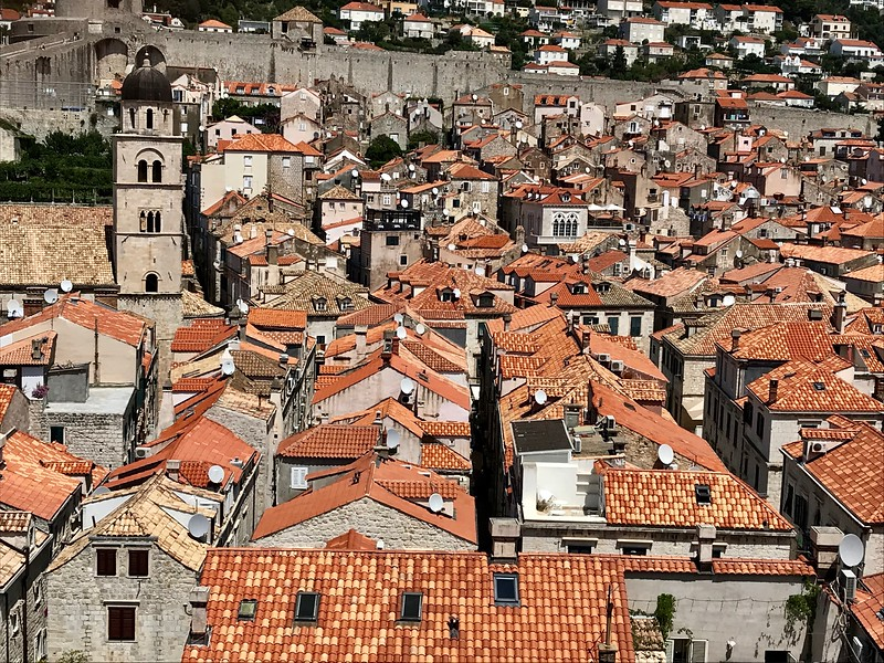within the walls of Dubrovnik, Croatia