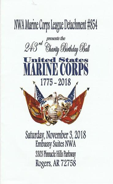 Marine Corps Birthday Ball 2018