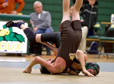 Zeeland West vs Zeeland East Wrestling