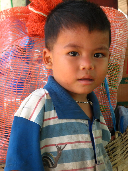Boy at the Yangon Central Railway Station