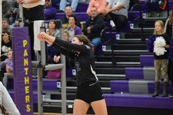 Durand Varsity volleyball vs. Mondovi,  Tues., Oct. 16th, 2018