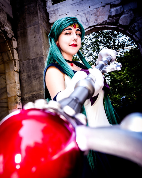 Dragon*Con 2017 - Sailor Pluto/Sailor Mars Shoot