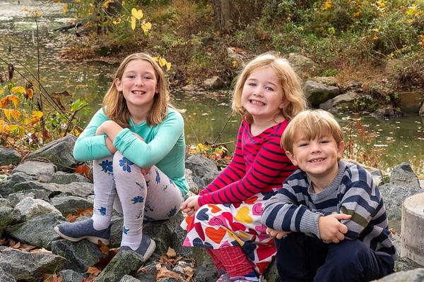 Wahl family, fall 2020