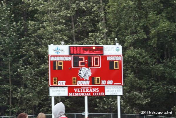 Wasilla Vs. West Valley JV 8-19-2011
