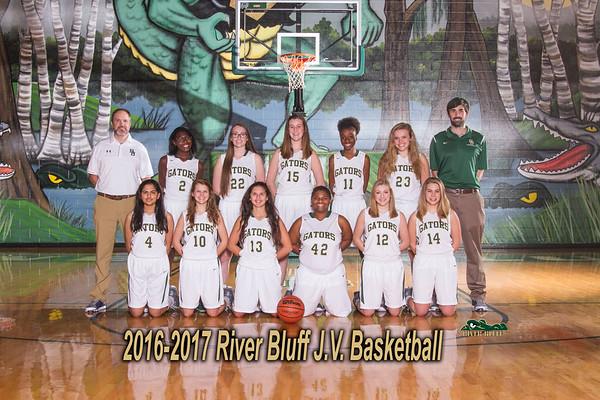 2016-2017  JV Girls Basketball