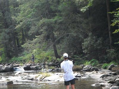Fall Fly Fishing and Backpack