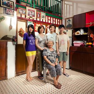 130615 少蘭 & Chris Family