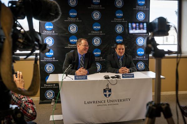 Coach Rob McCarthy Press Conference