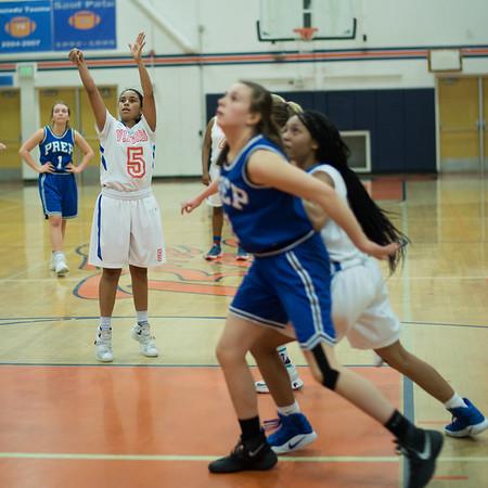 Girls JV Basketball vs SeaPrep