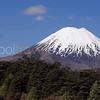 Mount Ngauruhoe volcano