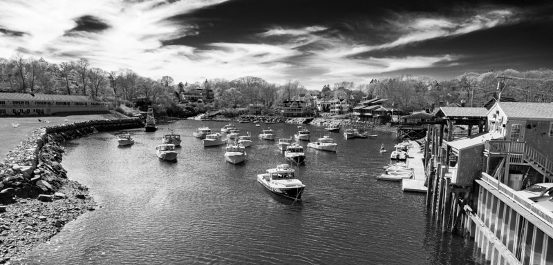 Lobster Boats in the Cove