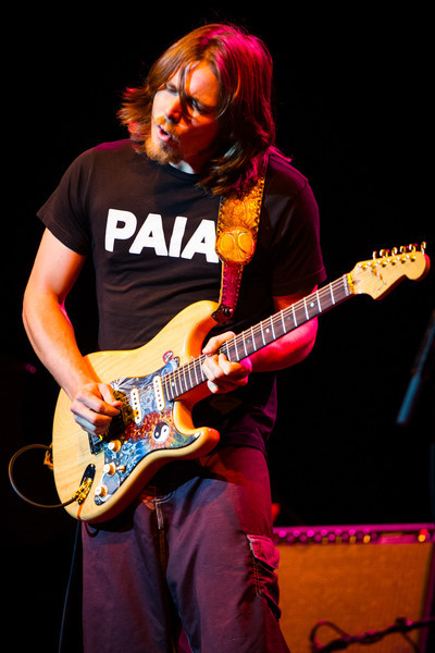 Lukas Nelson of Lukas Nelson and Promise Of The Real performs on February 17, 2011 at Van Wezel Performing Arts Hall in Sarasota, Florida
