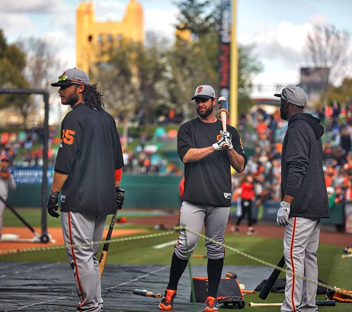 Giants at Sacramento River Cats 3-24-18