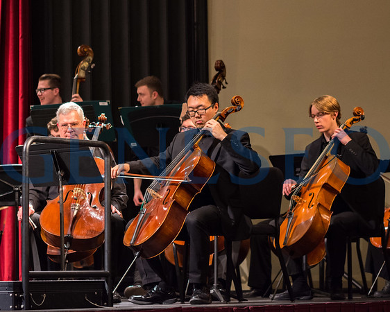 Geneseo Symphony Orchestra (Photos by Theo Liu)