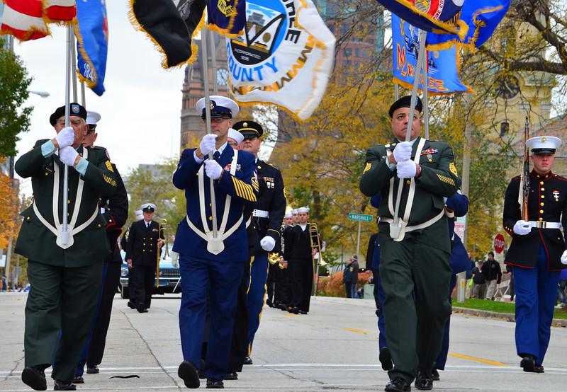 Veterans Day Parade 2013 Milwaukee Wi