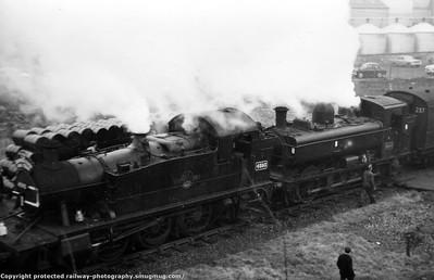 L.C.G.B. The Quantock Flyer Rail Tour 16th February 1964