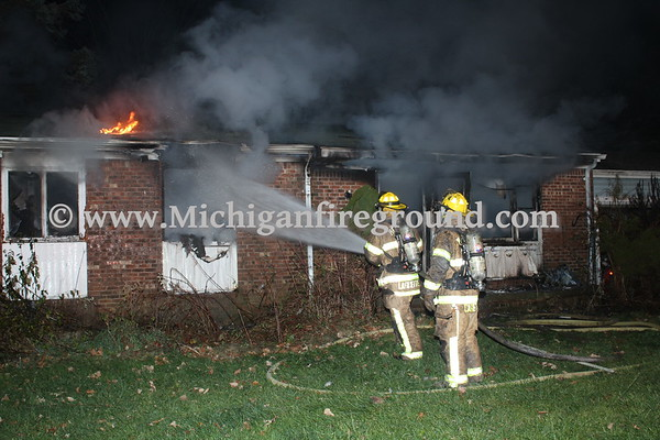 11/21/20 - Delhi Twp house fire, 2155 Willoughby Rd