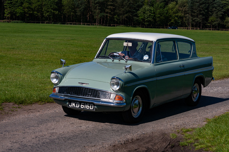 Ford Anglia JKD 616D