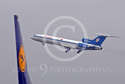 Belavia Airline Tupolev Tu-154 Airliner Pictures
