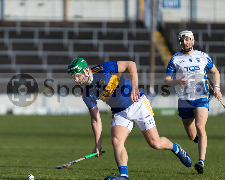 Noel McGrath of Tipperary collects the sliotar