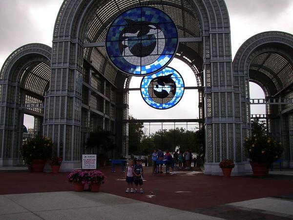 Sea World, San Antonio - 2004