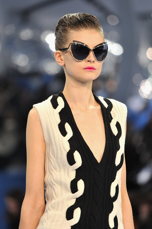 . A model walks on the catwalk during Christian Dior Fall/Winter 2013 Ready-to-Wear show as part of Paris Fashion Week on March 1, 2013 in Paris, France.  (Photo by Pascal Le Segretain/Getty Images)