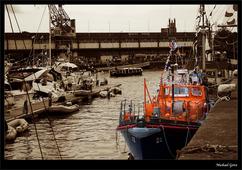 The wonderful lifeboats and their crew - collecting this year for the regions flood victims (83001727).jpg
