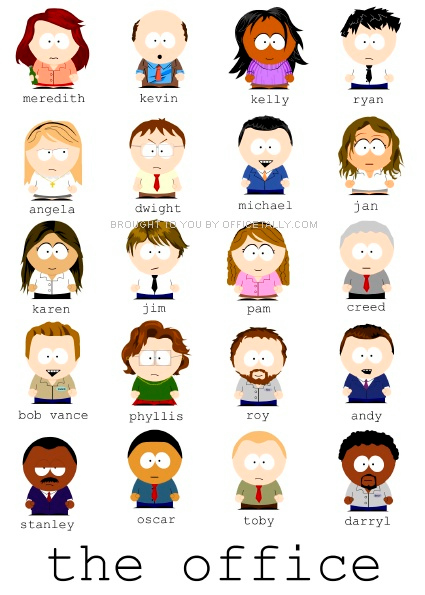 The Office South Park Style