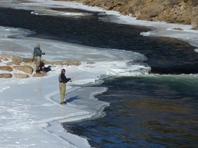 fishermen, arkansas river, bv, co
