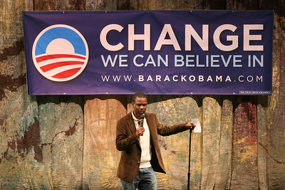 CHRIS ROCK AT NORFOLK PREFORMING IN SUPPORT OF GET TO VOTE RALLY