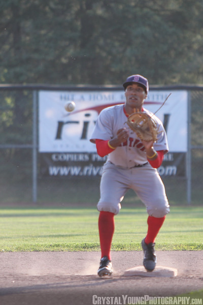 Brantford Red Sox at Barrie Baycats IBL Playoffs, Semifinals Game 1 August 9, 2014