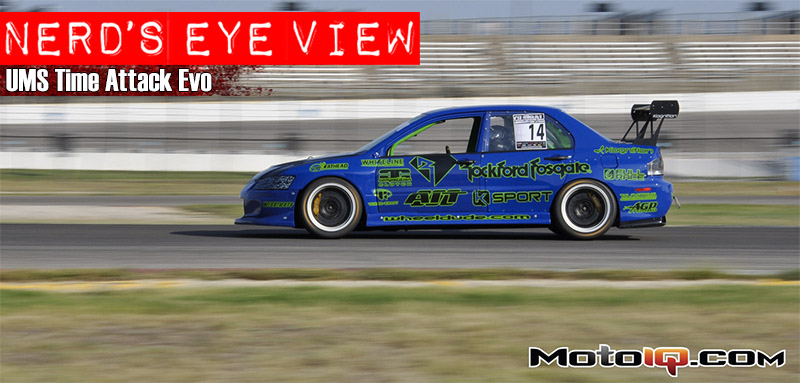 UMS Evo Feature Global Time Attack
