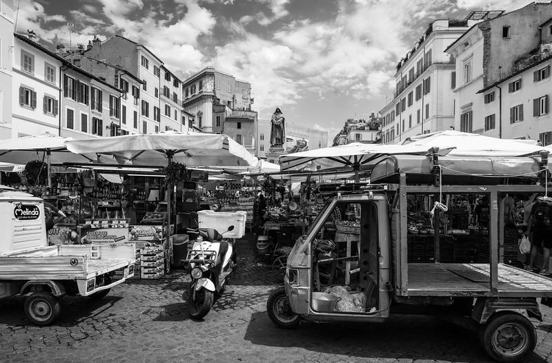 Compo de Fiori, Rome, Italy